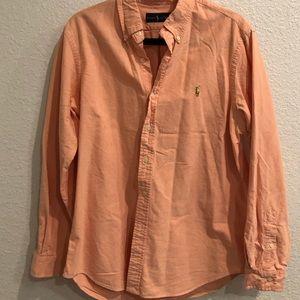 Ralph Lauren Button Polo shirt Size Large